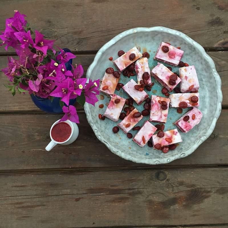 Raw Vegan Fruit Cake